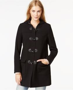 Maison Jules - Hooded Toggle Coat