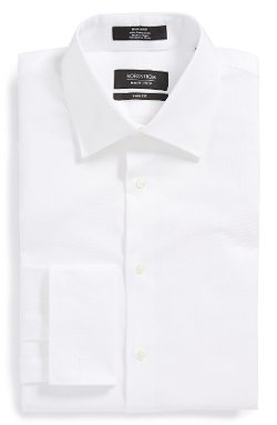 Nordstrom - French Cuff Dress Shirt