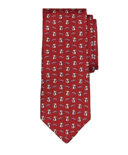Brooks Brothers - Cat and Fish Print Tie