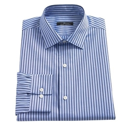 Marc Anthony  - Slim-Fit Striped Spread-Collar Dress Shirt
