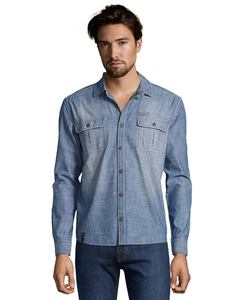 Lee Cooper - Vintage Wash Chambray Shirt