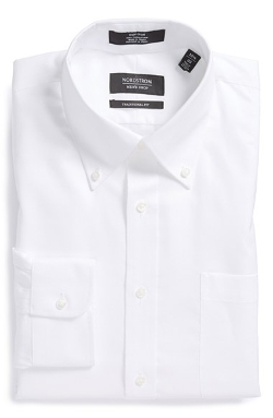Nordstrom  - Traditional Fit Non-Iron Dress Shirt