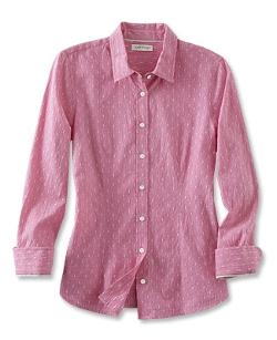 Orvis - Mini-Clip-Dot-And-Striped Shirt