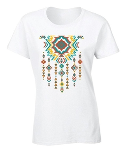 Awkward Styles - Southwest Pattern Indian Necklace Shirt