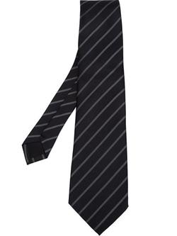 Comme Des Garçons - Striped Pointed Tip Tie