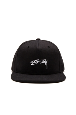 Stussy - Smooth Stock Enzyme Snapback Cap