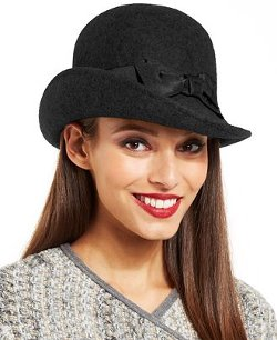 Nine West  - Felt Downtown Cloche Hat