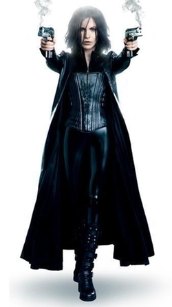 Leather Wardrobe - Underworld Awakening Selene Leather Coat