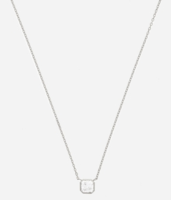 Henri Bendel - Luxe Asscher Cut Short Pendant Necklace