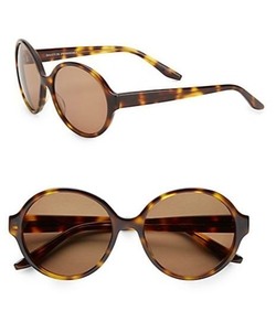 Barton Perreira  - Bouvier Round Sunglasses