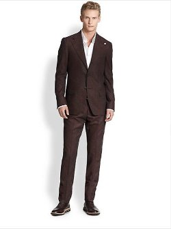 Atelier Scotch - Slim-Fit Wool Flannel Suit