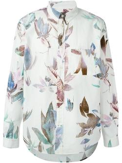 Paul Smith  - Leaf Print Shirt