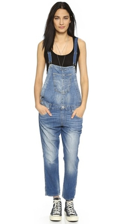 True Religion  - Katie Cropped Overalls