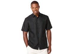Cubavera Shirt - Short-Sleeve Embroidered Guayabera Shirt