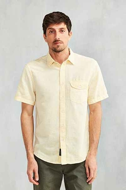 CPO  - Stonewash Short-Sleeve Button-Down Shirt