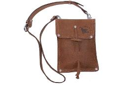 RUSTIC LEATHER - Distressed Full Grain Leather Shoulder Bag