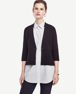 Ann Taylor - Peplum Jacket