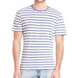AG - Cliff Crew Striped Tee Shirt
