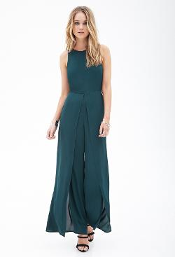 Forever21 - Classic Chiffon Jumpsuit
