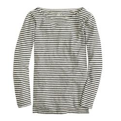 J.Crew - Stripe Painter Boatneck T-Shirt