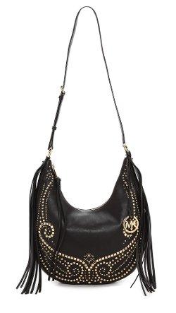 Michael Michael Kors  - Rhea Studded Shoulder Bag