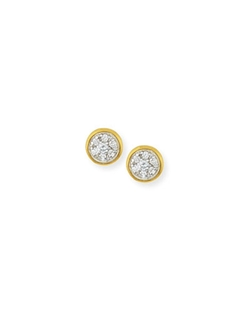 Gurhan - Celestial Pave Diamond Stud Earrings