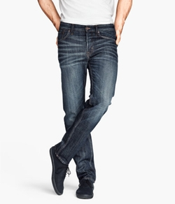 H&M - Straight Regular Jeans