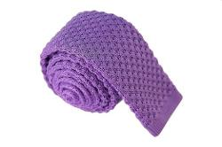 Imani Uomo - Cotton Skinny Polka-dot Knit Tie