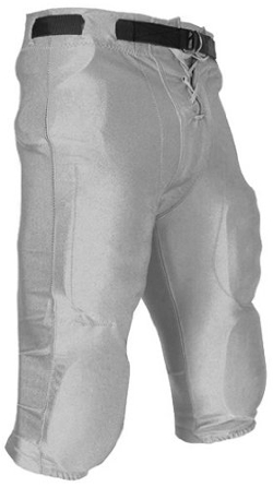 Champro - Stretch Dazzle Youth Silver Football Pants