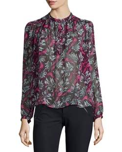 Rebecca Taylor - Mystic Floral Blouse