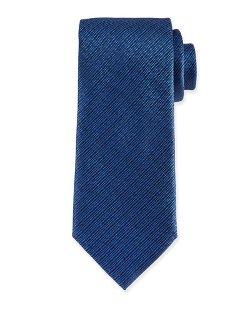 Brioni   - Tonal Plaid Silk Tie