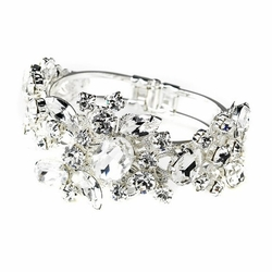Melissa Kay Collection - Clear Cubic Zirconia Crystal Bracelet
