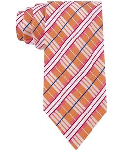 Geoffrey Beene - Plaid Alert Tie