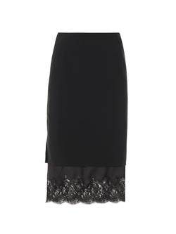 Altuzarra - Lace Hem Pencil Skirt