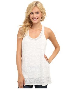 Roper  - Cotton Allover Lace with Tank Cami Top