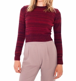 American Apparel - Classic Crop Long Sleeve Sweater