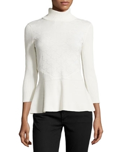 Catherine Catherine Malandrino - Knit Turtleneck Sweater