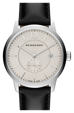 Burberry  - Textured Dial Watch