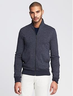 Banana Republic - Terry Zip Jacket