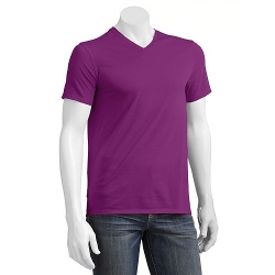 Apt. 9 - Solid Deluxe Layering V-Neck T-Shirt