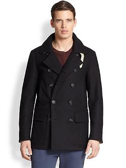 F. Faconnable  - Wool Blend Peacoat