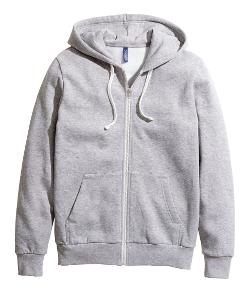 H & M - Drawstring Hooded Jacket