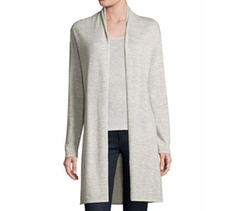Neiman Marcus Cashmere Collection   - Superfine Cashmere Open Cardigan