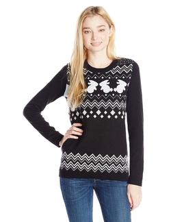 Eric + Lani - Bunny Jacquard Yarn Sweater