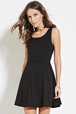 Forever21 - Classic Fit And Flare Dress