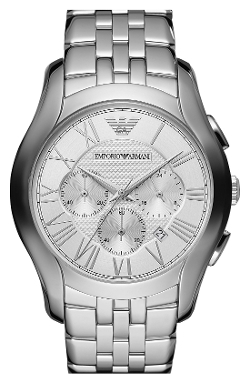 Emporio Armani - Round Chronograph Bracelet Watch