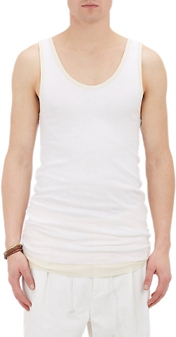 Takahiromiyashita Thesoloist - Double Layer Tank Top
