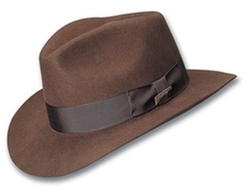 Dorfman Pacific  - Indiana Jones Fur Felt Fedora