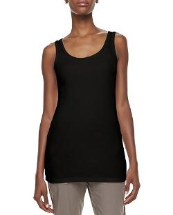 XCVI   - Long Slim-Fit Cotton Tank Top