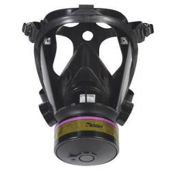 Airgas - Honeywell Small Silicone Opti-Fit ™ Full Face Tactical Gas Mask